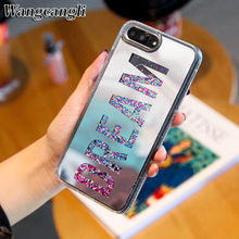 Dream Mirror Glitter Dynamic Liquid Quicksand Phone Case For iPhone 7 Plus iphone 6 6S 8 Cases X XS MAX XR