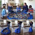Saco de armazenamento Brinquedos Organizador Caixa de Tapete Para Lego Dolls 158 cm Crianças Portáteis Jogar Mat 99