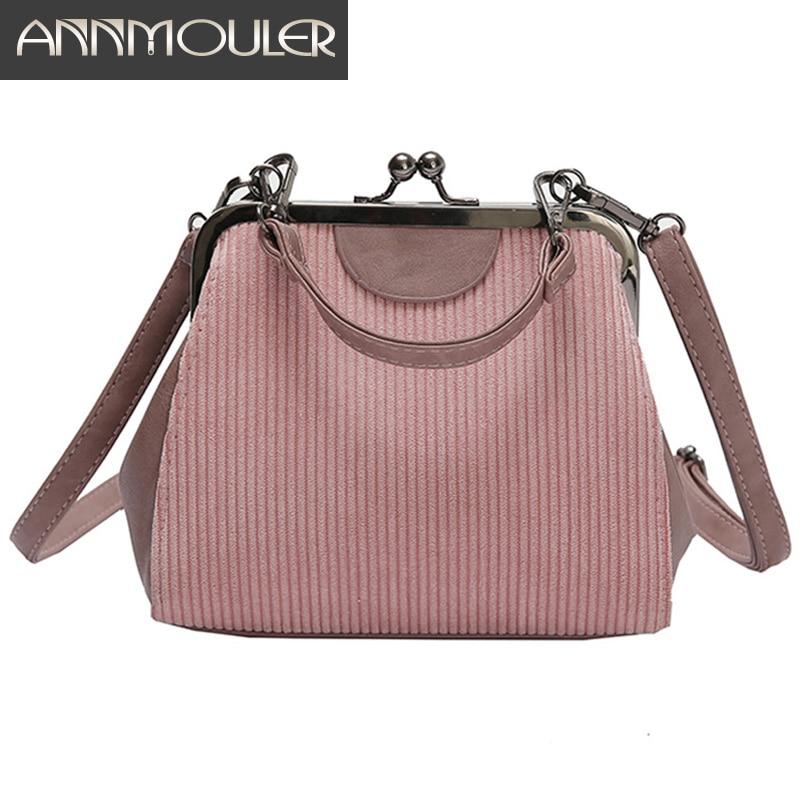 1c2bee76 Bolso Vintage para mujer, Bolso pequeño, bolsos de pana, de nuevo diseño  bolso