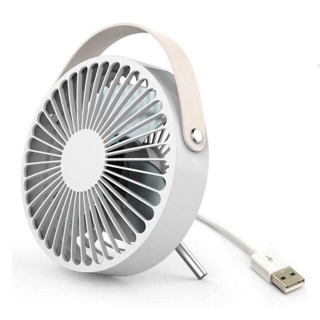 Elektrische ventilator base moving head mini fan domme slaapkamer ...