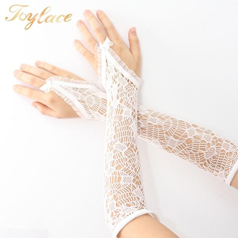 ①Opera longitud personalizado guantes sin dedos - a586