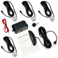 New Car LED 4 Silver Parking Sensors Display Reverse Backup Radar Kit Car-styling Retail&Wholesale Free Shipping