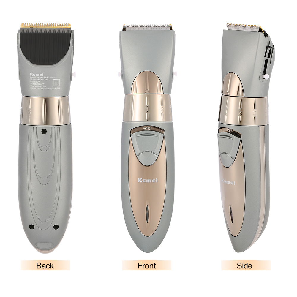 Electric Washable Hair Clipper Rechargeable Hair Trimmer Shaver Razor Cordless Adjustable Clipper Washable Cordless Adjustable electric washable hair clipper rechargeable hair trimmer shaver razor cordless adjustable clipper eu plug
