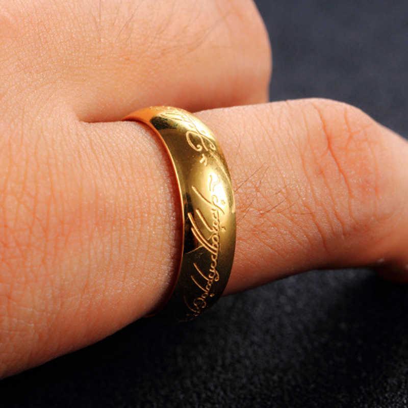 ELSEMODE אמיתי נירוסטה שר אחד טבעת ניאון זוהר אוהבי נשים גברים תכשיטים זרוק חינם