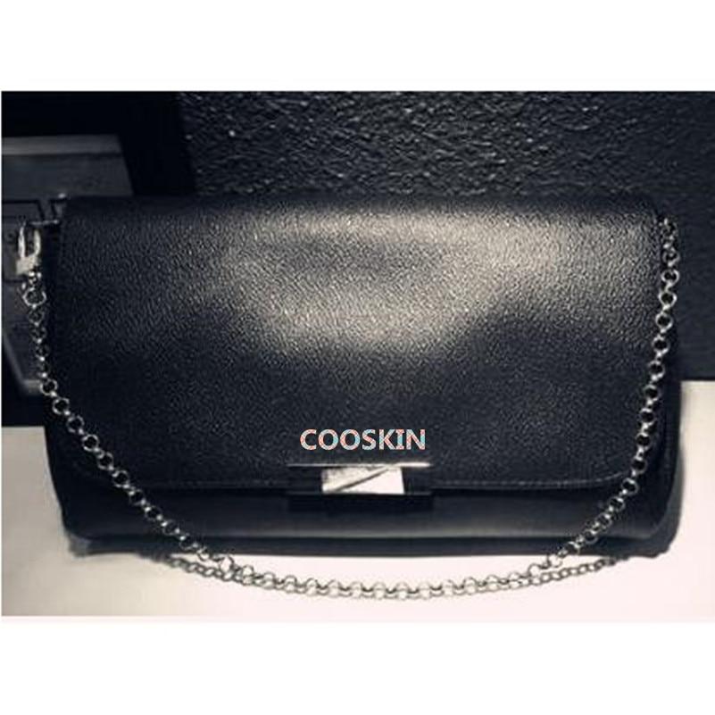 Elegant and noble Lady Favorite Shoulder Messenger Bag Damier canvas chain square bag DHL speedy shipping