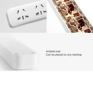 Image 4 - 100% Xiaomi Mi 5 Power Sockets  Power Strip Plug  Electrical Power Adapter Independent Safety Door with Nonslip Mat