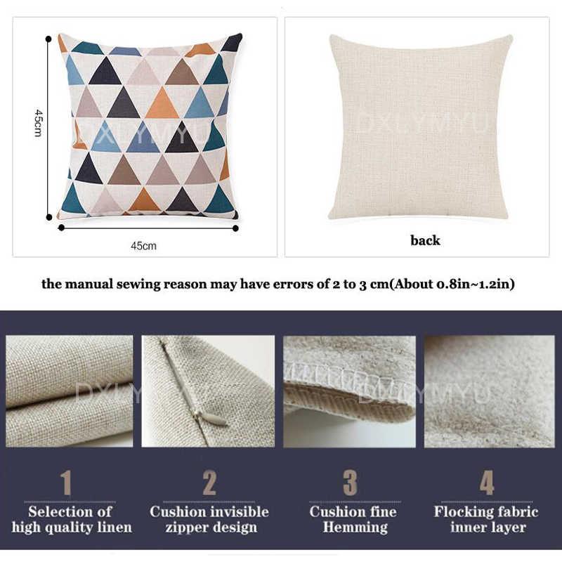 Citações engraçadas do Papel Higiénico Escova de Dentes Banheira Pintura Cartazes Impressos Throw Pillow Caso Capa de Almofada Nordic 45x45 cm para o Sofá