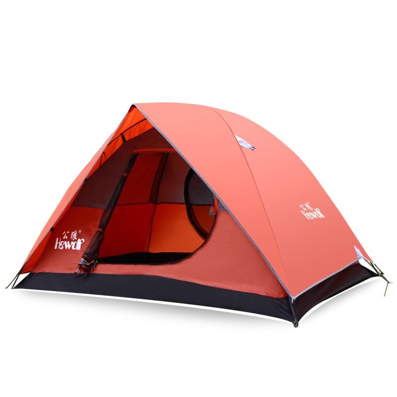 ФОТО Professional 2 Person Ultralight Camping Tents Outdoor Carpas Beach Awning Fishing Tarp Waterproof Rainproof Portable Tente