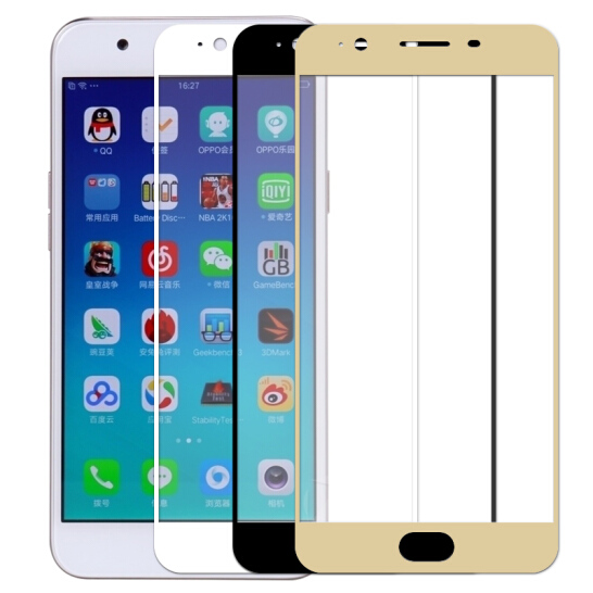 3D Full Cover Tempered For OPPO F1S F1 F3 F5 F7 F9 Plus Lite Youth Pro Glass For glass Screen Protector
