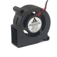 Gdstime 1 шт. DC 24 в 50 мм вентилятор 50x50x20 мм 5000 об/мин центробежный вентилятор 24 вольт 5020 вентилятор охлаждения 5 см