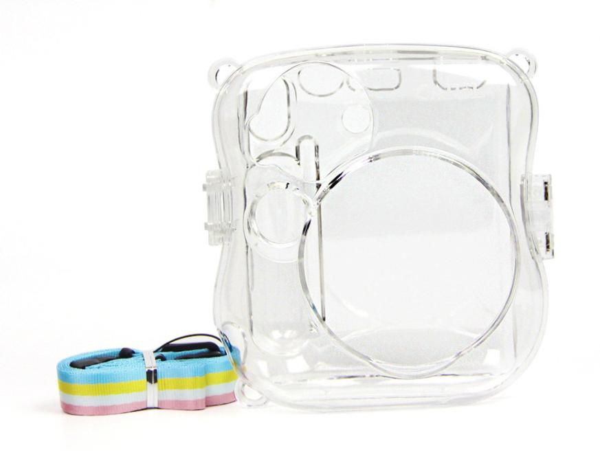 Crystal Transparent Case For Fuji Fujifilm Instax Mini 25 Polaroid Camera New Dropshipping Mar 19