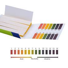 80 полосок/упаковка pH Тест-Полоски Полный ph-метр PH контроллер 1-14st индикатор лакмусовой бумаги воды Soilsting Kit