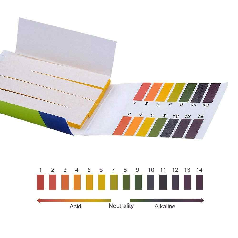 80 Strip/Pack Ph Test Strips Penuh PH Meter Ph 1-14st Indikator Litmus Paper Air Lapisan Tanah Kit