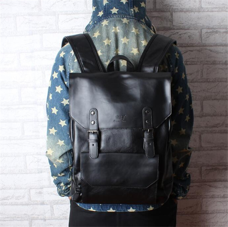 men leather backpack01