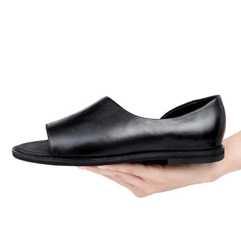 Mycolen Hombres Moda Sandalen Marca Lujo Verano De Negro Zapatos Transpirable Casuales Heren 2018 Sandalias rSUAwrqp