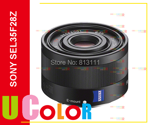 Sony Carl Zeiss Sonnar T* FE 35mm F2.8 ZA Lens SEL35F28Z