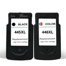 PG-445 CL-446 Ink Cartridge For Canon PG445 CL446 Pixma IP2840 MX494 MG2440 MG2540 MG2940 Printer 1set remanufactured pg445 pg 445 pg445xl ink cartridge pg 445xl cl 446xl for canon ip2840 mx494 mg2440 mg2540 mg2940