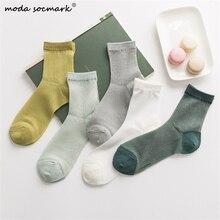 2019 Hot Sale Hipster Harajuku Thin Ankle Socks Women Fashio