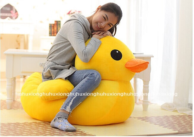 stuffed animal 100cm cute yellow duck plush toy doll gift w2934 big plush yellow duck toy lovely new big yellow duck doll pillow birthday gift about 85cm