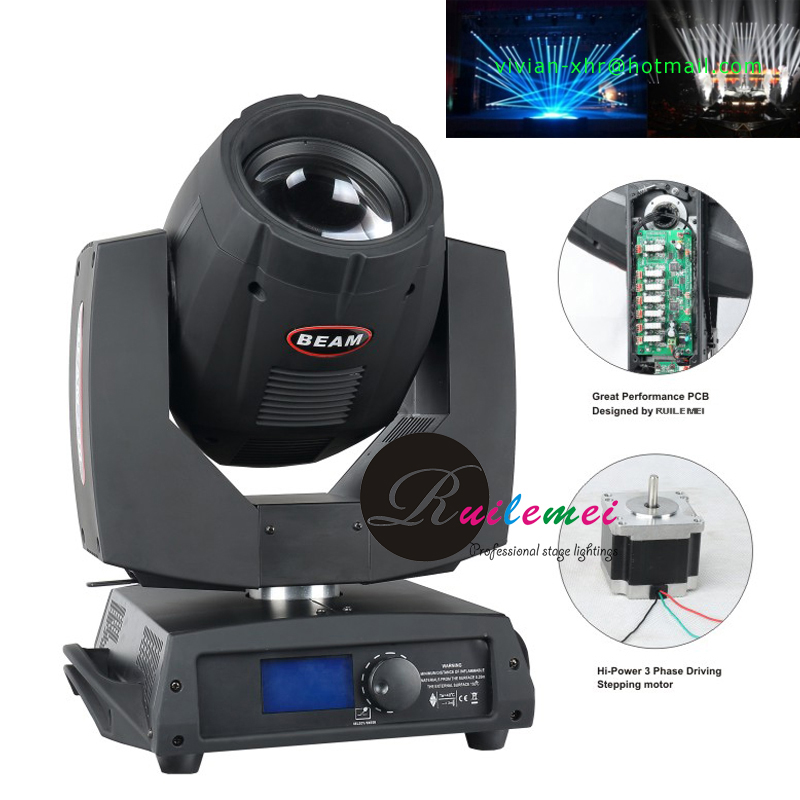 Free Shipping 5R Beam Moving Head Light 200W 14 Colors Stage Lighting Equipment Moving Spot & Beam Lamp DMX512 Sharpy Beam 200 200w 230w beam moving head light fan 8x8cm 12vor 24v stage lighting spare parts show lighting accessories