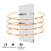 전기 적외선 유리 패널 히터 라디에이터 600 w 580*1090mm 욕실 적외선 유리 히터 에너지 절약
