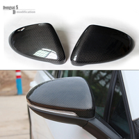 2014 2015 2016 vw golf 7 replacement carbon fiber door side wing mirror covers for Volkswagen Golf MK7 gti golf7 r car tuning