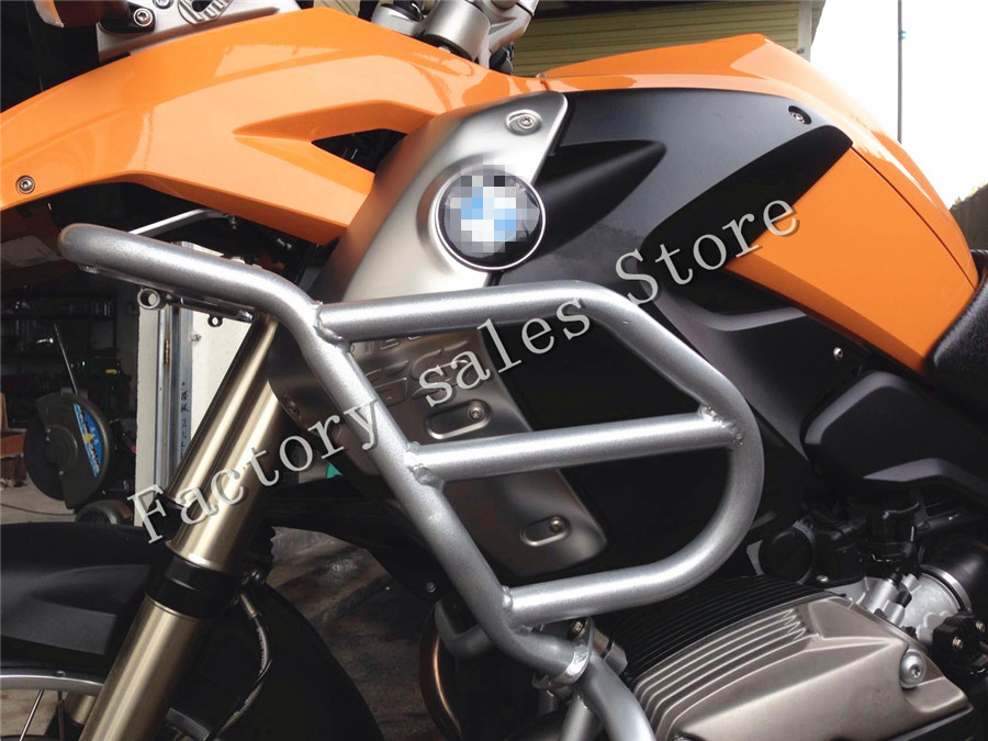 For <font><b>BMW</b></font> R1200GS R 1200GS 2004-2012 2004 2005 2006 <font><b>2007</b></font> 2008 2009 Crash Protection Bars Engine Guard Protective Frame R <font><b>1200</b></font> <font><b>GS</b></font> image