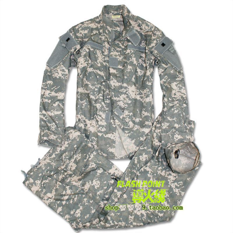 Us Army Military Uniform For Men Training Uniform Camouflage ACU Digital Camouflage Combat Military Uniform XS-XXL