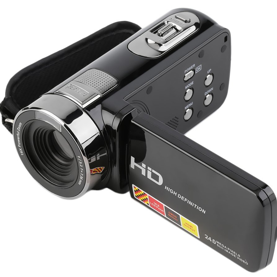 3 0 Inch 1080P 16X Zoom 24MP Portable 270 Degree Rotatable Digital Video Camera Camcorder DV