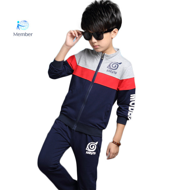 2016 Spring Boys Clothes Jacket Floral Kids Mixed colors+Pants Kids Tracksuit For boys Clothing Sets boy Sport Suit  30#