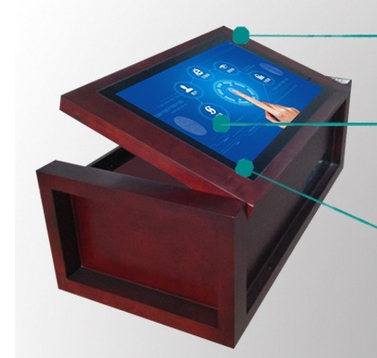 K Display Industrial Pc Interactive Touch Screen Kiosk Conference - Multimedia conference table