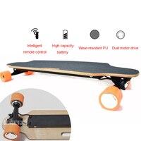 Four 4 Wheel Electric Skateboard With Remote Control Adult Scooter Wood Longboard Skate Board 10km/25km Mileage10km/25km Mileage