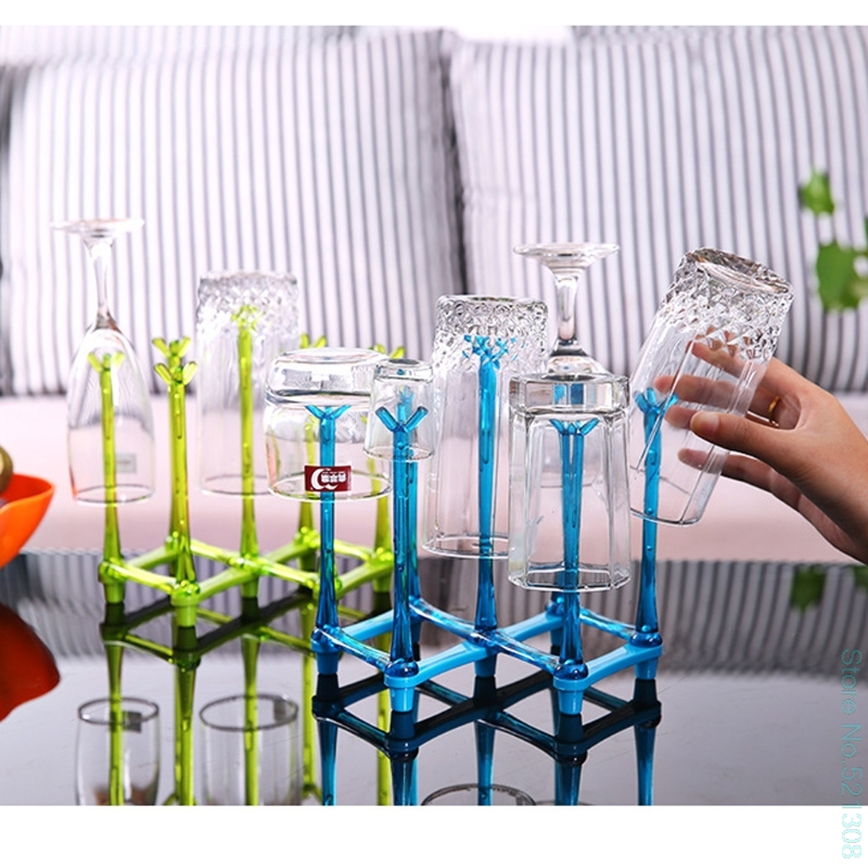 Baby Feeding Bottle Rack Drying Nipple Stand Cup Storage Folding Drainer Dryer Drop Ship