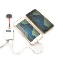 VMR48 Receptor AV de 5,8 Ghz para Dron de carreras RC, dispositivo receptor Universal de 5,8 canales, G, FPV, para iPhone, Android, IOS, Smartphone, tableta móvil