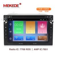 MEKEDE Android 9.1 2+32G car dvd gps navigator for VWGolf4 T4 Passat B5 Sharan support DAB+ OBD2 BT radio ipod