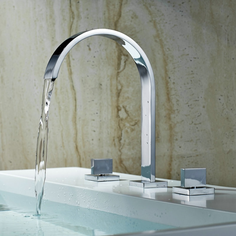 Washbasin faucet Three pieces set basin mixer full brass fashion bathroom faucet hot and cold water contemporary tap LT-7773N pastoralism and agriculture pennar basin india