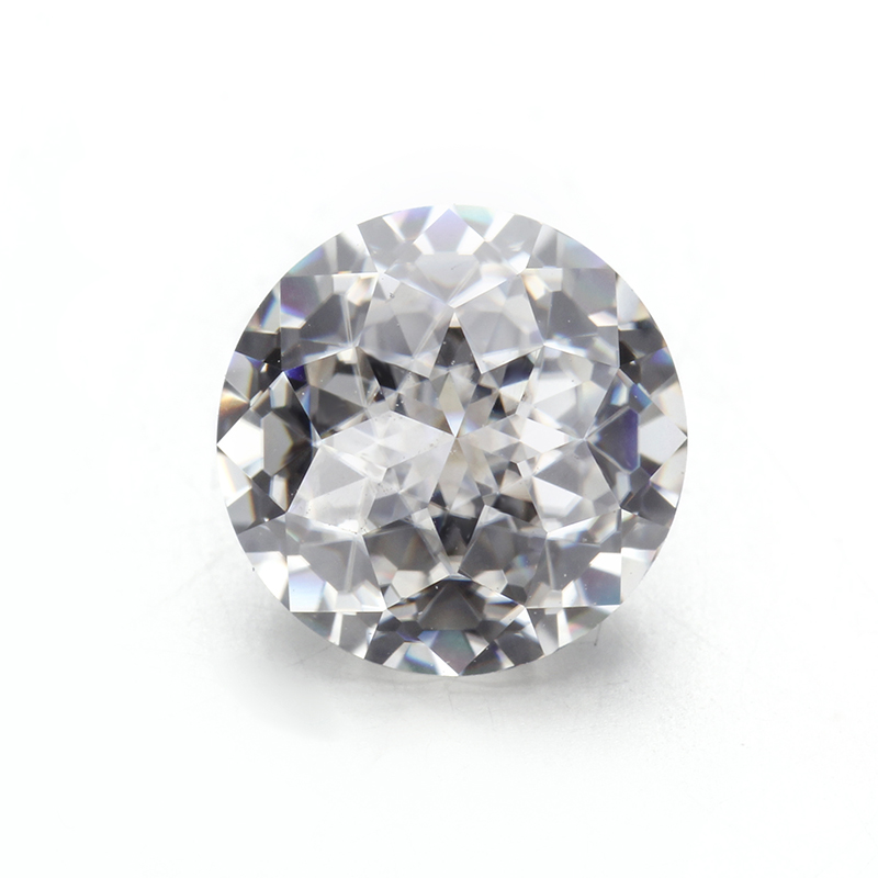 Clear white EF color 9.0mm round jubilee cut moissanites loose gems stones for jewelry making
