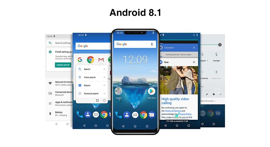 OUKITEL C12 Pro 4G LTE Mobile Phone 19:9 6 18