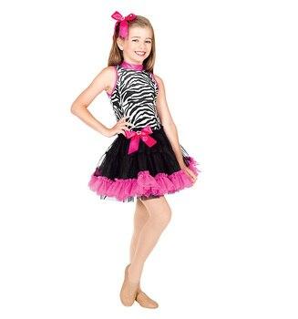 Lady Leopard Tutu Dress Female Ballet Dance Costumes Girls Dancing Performance Suit Latin Dance Costumes D-0452
