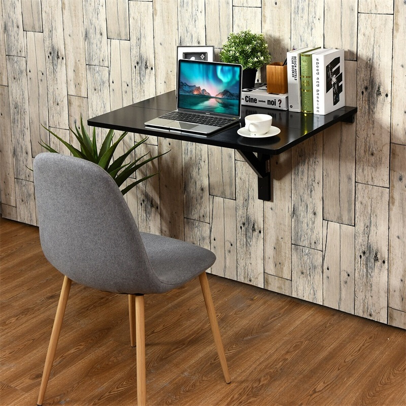 Space Saver Folding Wall Mounted Drop Leaf Table Living Room Furniture Console Side Tables HW60337
