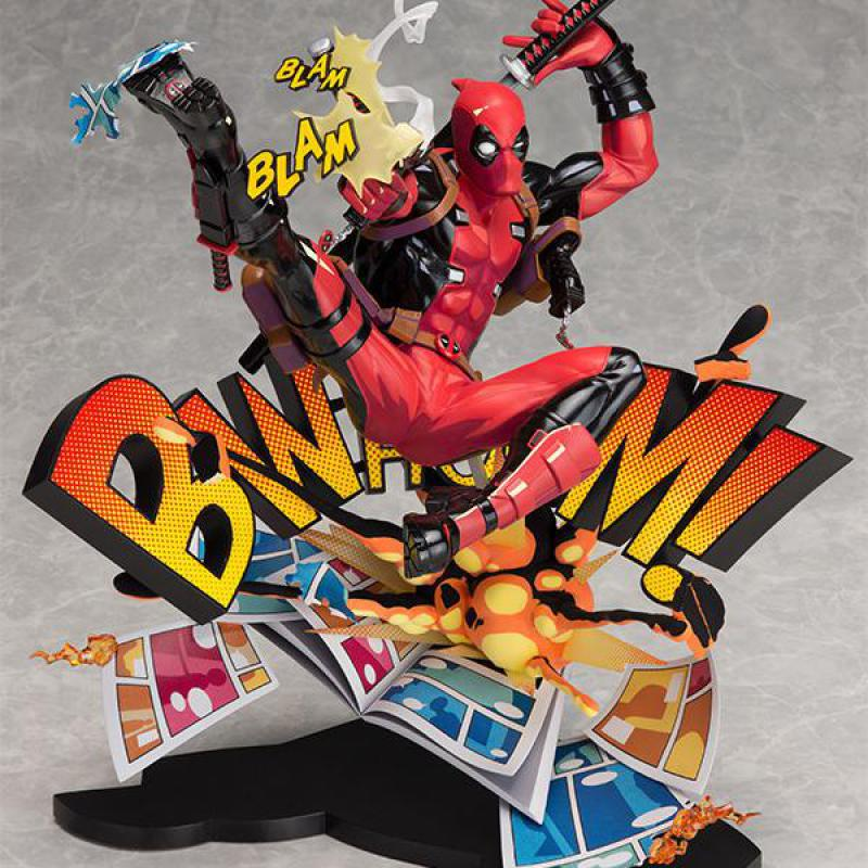 Two Dimensions Super Heros Deadpool Yamaguchi Style Joint X-men Anime Action Toy Figures Pvc Model Collection Original BoxTwo Dimensions Super Heros Deadpool Yamaguchi Style Joint X-men Anime Action Toy Figures Pvc Model Collection Original Box
