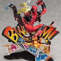 Two Dimensions Super Heros Deadpool Yamaguchi Style Joint X men Anime Action Toy Figures Pvc Model Collection Original Box