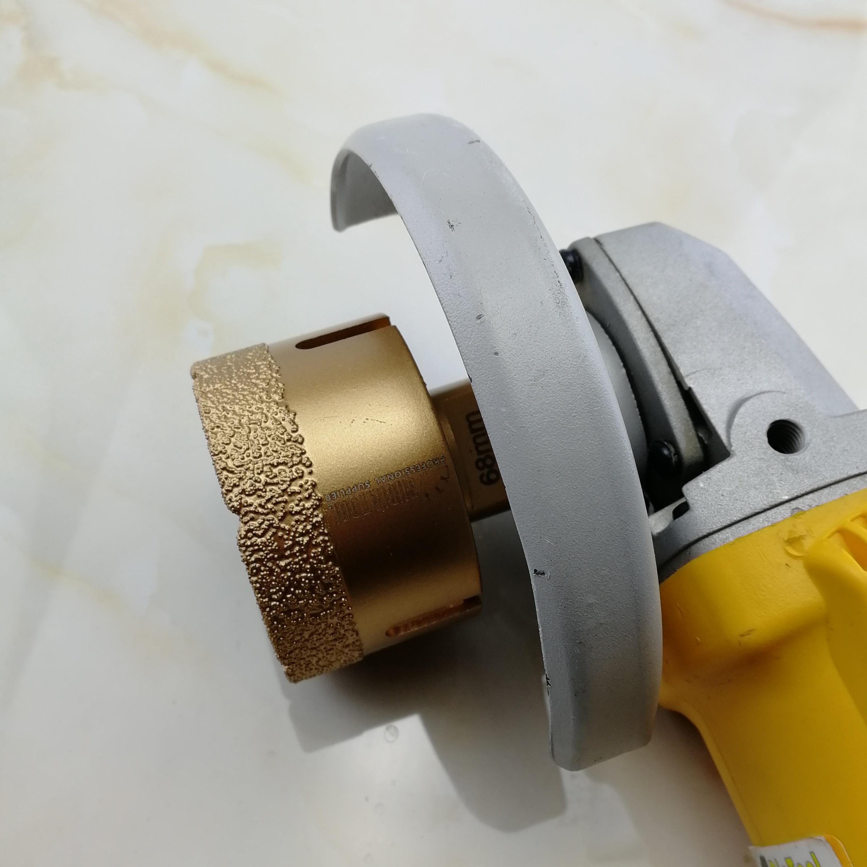 SHDIATOOL 60 mm M14 Draad Vacuümgesoldeerde diamantboorkronen Boren - Boor - Foto 3