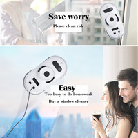5pcs Best Price Robot Lifestyle Window Glass Cleaner Robot Window Cleaner Auto Clean Anti Falling Smart