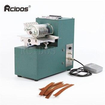 V01 RCIDOS Leather slitting machine,leather slitter,shoe bags straight paper cutter,Vegetable tanned leather slicer,220V