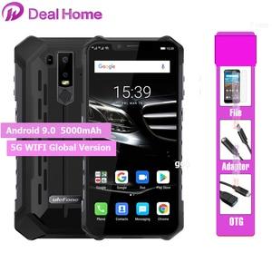 "Image 1 - Ulefone שריון 6E IP68 עמיד למים 6.2 ""Smartphone אנדרואיד 9.0 Helio P70 4GB 64GB פנים מזהה NFC אלחוטי מטען נייד טלפון"