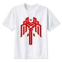 LEQEMAO Dragon Age Kirkwall T Shirt Men T Shirt Fashion T Shirt O Neck White TShirts