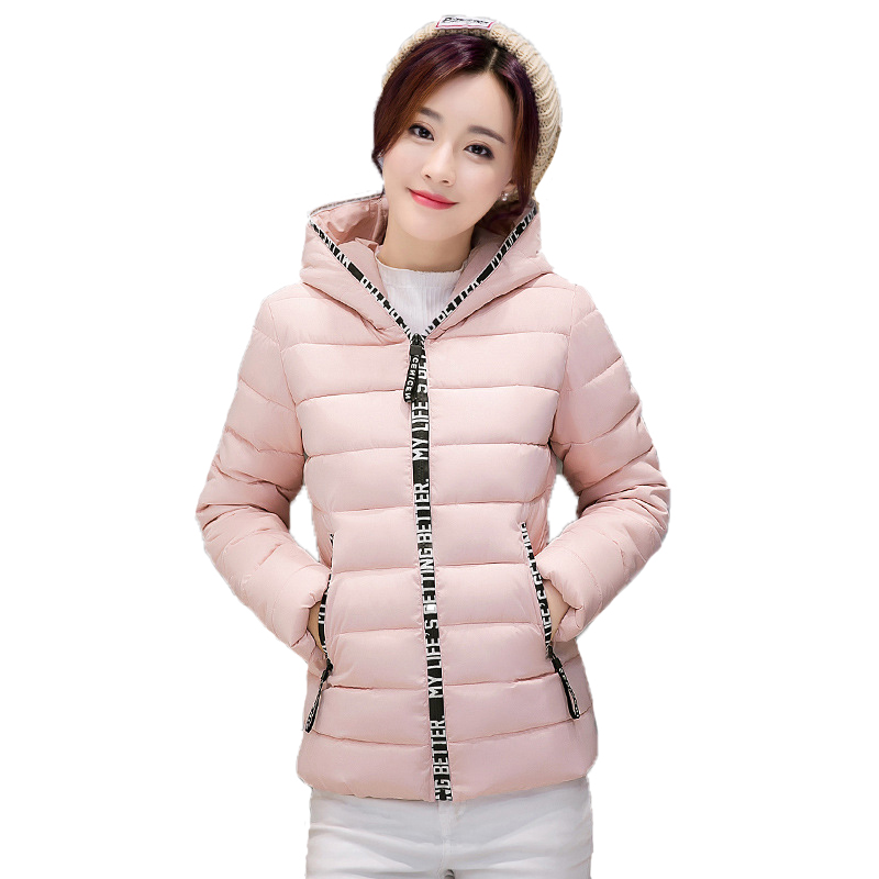 ФОТО Snow Wear Wadded Jacket Female Autumn And Winter Jacket Women Slim Short Cotton-Padded Jacket Outerwear Winter Coat Women A91