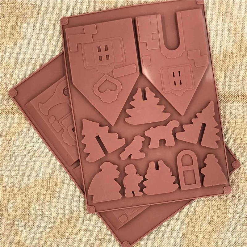 ... Kosten Relativ Hoch). Sie Können Auch Die Teig Zu Machen Haus Form  Kekse, Machen Die Weihnachten Haus Modell, Dann Gießen Sie Die Schokolade  Oder Alle ...