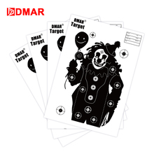 20/50/100pcs 42cm Shooting Target Paper Silhouette Tactical Training Target Range Shooting Airsoft Outdoor Indoor Bow Archery wosport wst box type reset shooting target linkage metal spinner outdoor indoor durable harmless steel archery airsoft gun